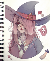 Sucy from Little Witch Academia by Moriartea-chan