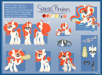 Spotted Rhythm Reference Sheet 2016 by spottie-dots