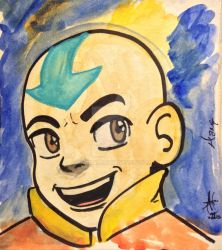 Aang by anacal