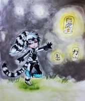 White Tiger- Light Dancer by Dracohydrus33