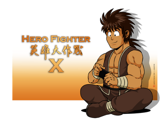Hero Fighter X by Henry-The-Archer
