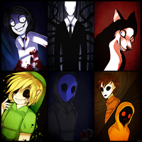 Creepy guys by Riikaruh