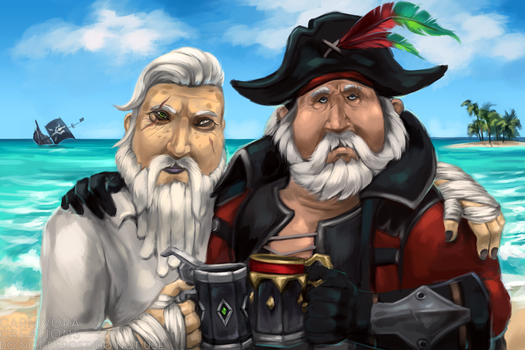 Scurvy dogs by Chickenbusiness