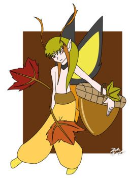 Gift: Fall Fairy by BlueFve