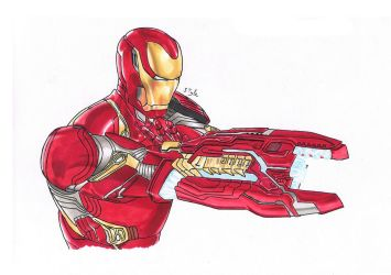 Iron man by The-Masterstyle