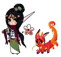 [bs-adopts] Mulan and Mushu (On HOLD) by KatVizionz