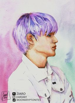 NCT: Taeyong by Z1aR0