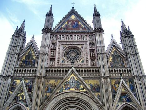 The Duomo of Orvieto by Miligold