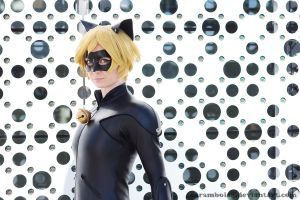 Chat Noir portrait by CarambolaG