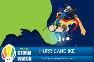 Hurricane Ike by EnterPraiz