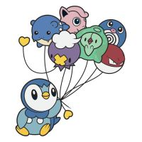 Piplup's balloons