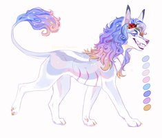 Pink Champagne - ADOPT AUCTION CLOSED by Fewtish