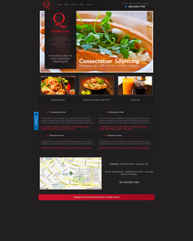 QCafe - Cafe Webdesign and Development by AryaInk