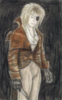 Portrait of Jareth with an eyepatch by gagambo