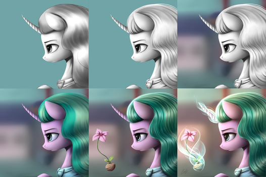 Mistmane Step by Step by lachlan765