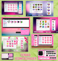 8 temas para iconpackager by a-Sonrix