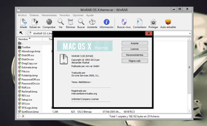 MAC OS X | Winrar Theme by AleColorfulEditions