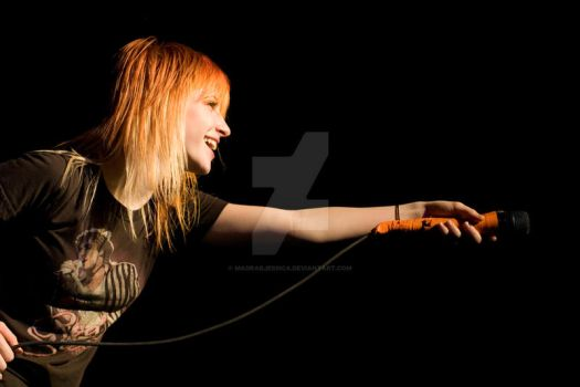 Paramore - Hayley Williams by madradjessica