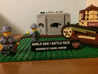 WWI Battle Pack by TheHorribleHistorian