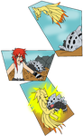 There's no Wolfe Pokemon - Meeting Lairon by TheFallingpiano