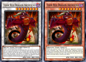 Toon Red Dragon Archfiend by AlanMac95