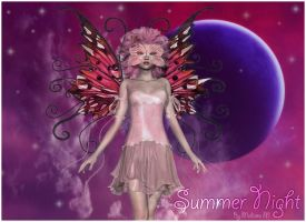 Summer Night Wallpaper by MadameM