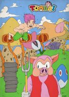 Tomba Tribute by Llewxam888