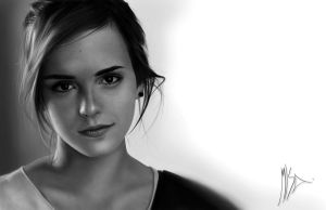 Emma Watson Illustration by MisaUrban