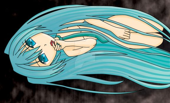 Cute Miku by BrittanysDesigns