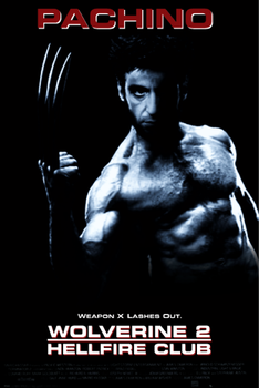 Al Pacino as Wolverine 2 by Jarvisrama99