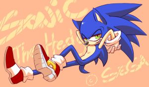 .:Sonic The Hedgehog:. by caninelove