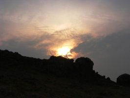 Ilkley Moors Sunset by Spe4un
