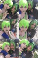Jolyne and FF - Best Friend of Jail by HinaNekosama
