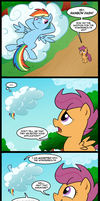 Rainbow Crash the Wonderbolt (Commission) by tan575