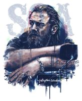 Opie Sons of Anarchy by StephenGladue