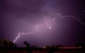 Monsoon Storm 1 by Delusionist