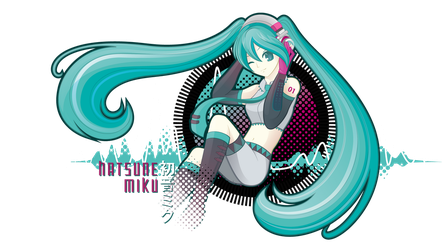 Miku First by SambaNeko