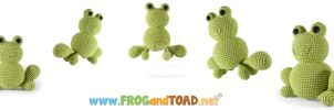 Anura the hopping frog by FROG-and-TOAD