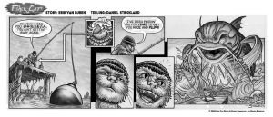 Fisher-Cat Strip 1 by strickart