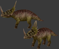 Rubeosaurus by Ophious
