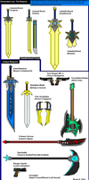 Descendant Lore: The Weapons by Firewarrior117