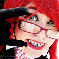 Grell Sutcliff, at your service. by LittleFrank