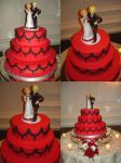 One Piece Cake Topper by invader-gir