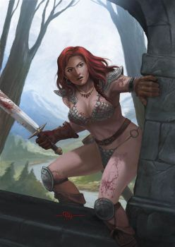 RED SONJA REBORN by kumbalaseta