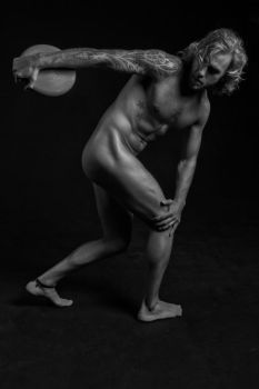 Modern Antiquity - Discus Thrower 01 by SandraChung