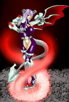 War Succubus Evolved by glitchxhavoc