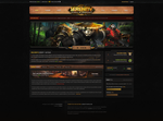 Serenity-WoW Website design by ZafireHD