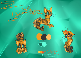 Tigress Lilymay Reference by KatAuroraMist