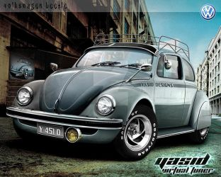 Volkswagen Beetle by yasiddesign