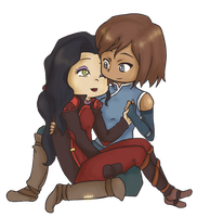 Out of the Bottle - Korrasami by Katantoon